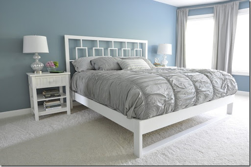 Ideal West Elm inspired bed frame from Decor u the Dog