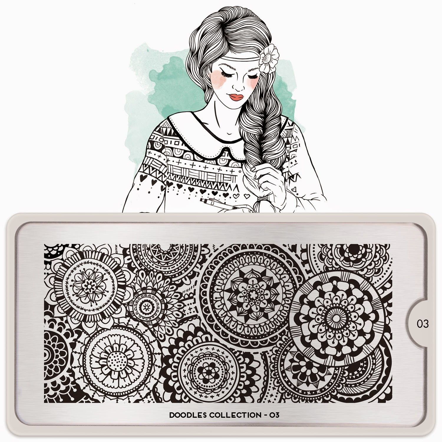Lacquer Lockdown - Moyou London, nail art stamping blog, Doodles Collection, new nail art stamping plates 2015, new nail art image plates 2015, MoYou London Doodles Collection, nail art stamping, stamping