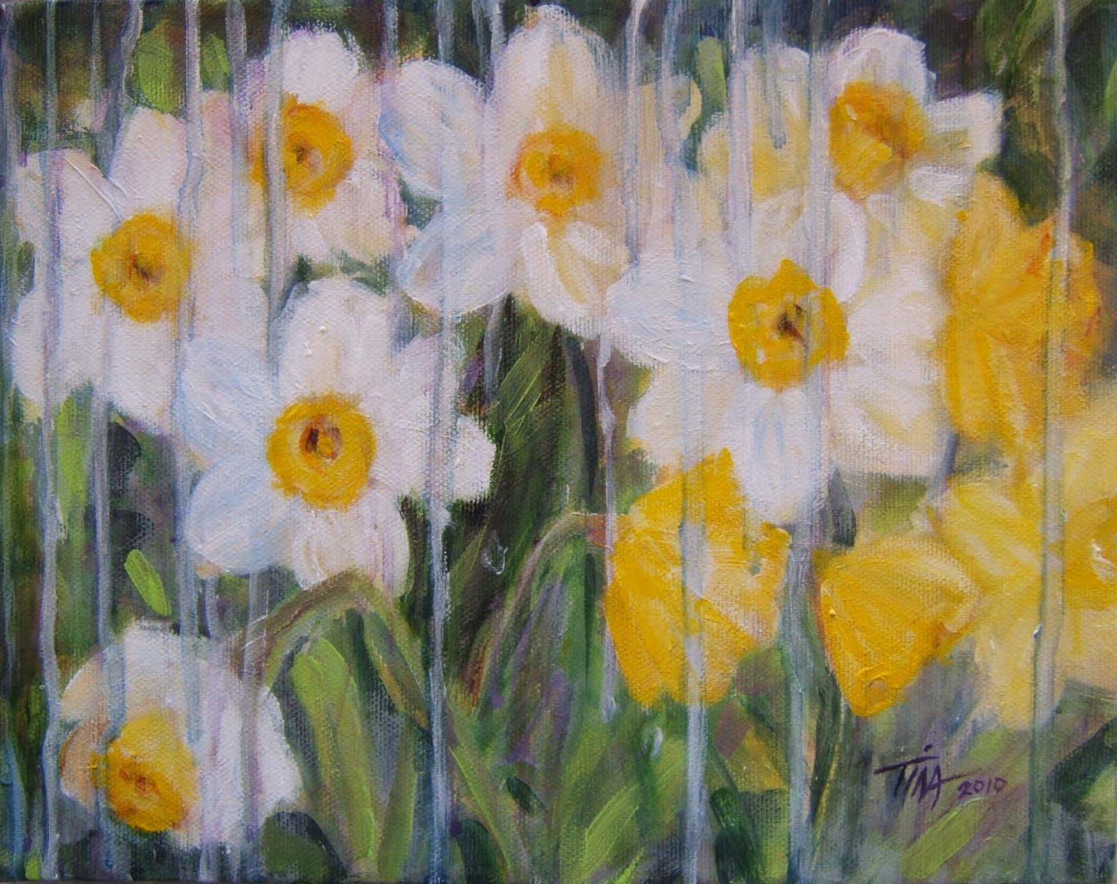 "8""x 10"" acrylic on canvas, copyright 2010 Tina M. Welter"