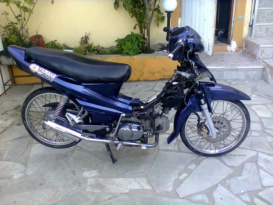 Mikrowio me dio rodes: Yamaha Crypton R 51mm