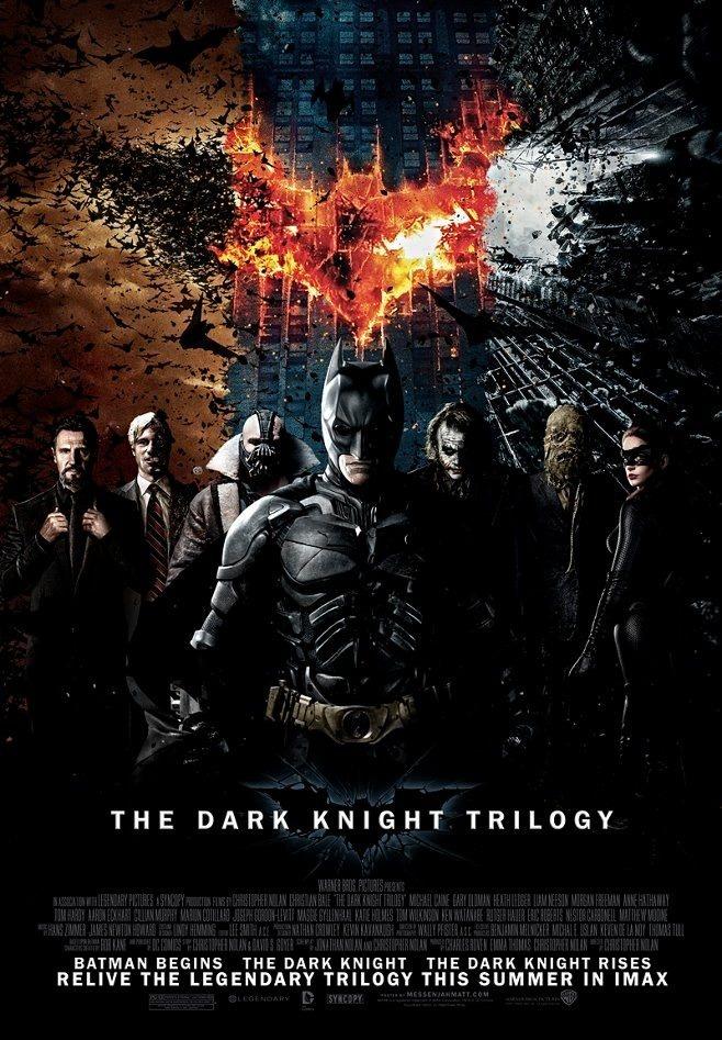 Batman Begins  Batman     O Cavaleiro Das Trevas E Batman  O Cavaleiro