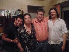 Chelo Margal, Margarita, Miguel y Gustavo