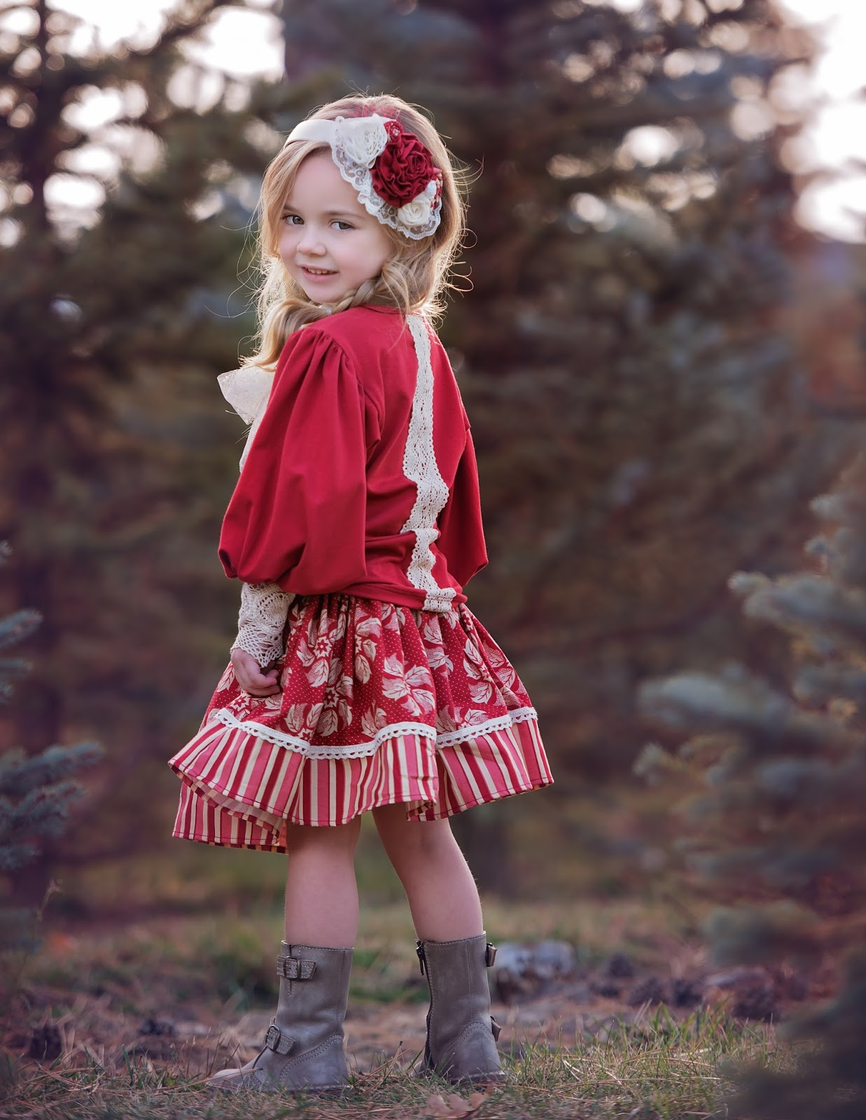Christmas dress boutiques - Persnickety Holiday 2015 Pinecones And Holly Berries Collection