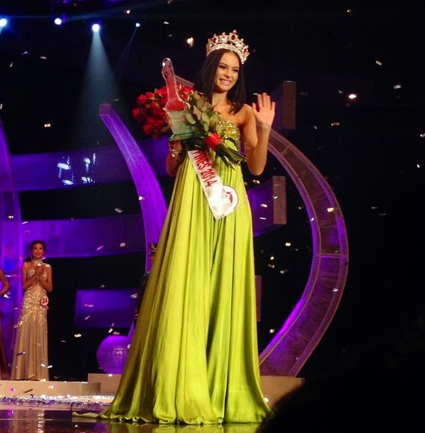 Valerie Weigmann wins Miss World Philippines 2014