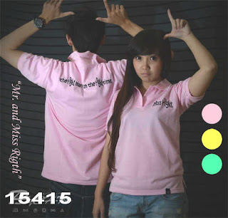 Polo kerah couple
