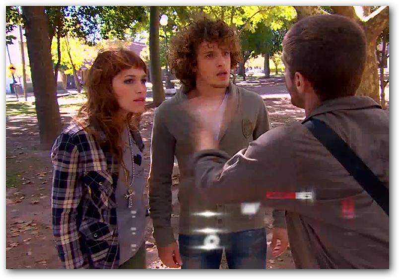 Paloma, Lucas y Valentino