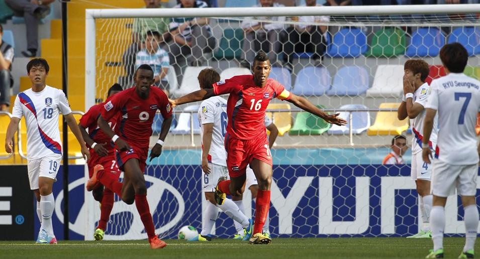 Futbolista cubano considera enriquecedora experiencia en Mundial sub-20