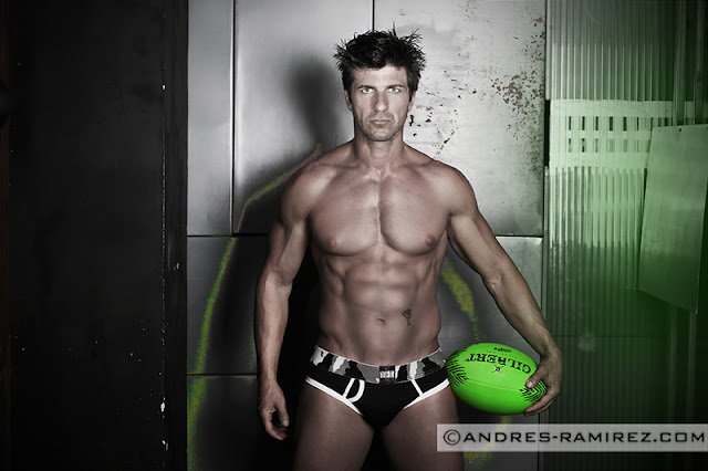 Sexy David Fillol by Andres Ramirez - Underwear by Barcode