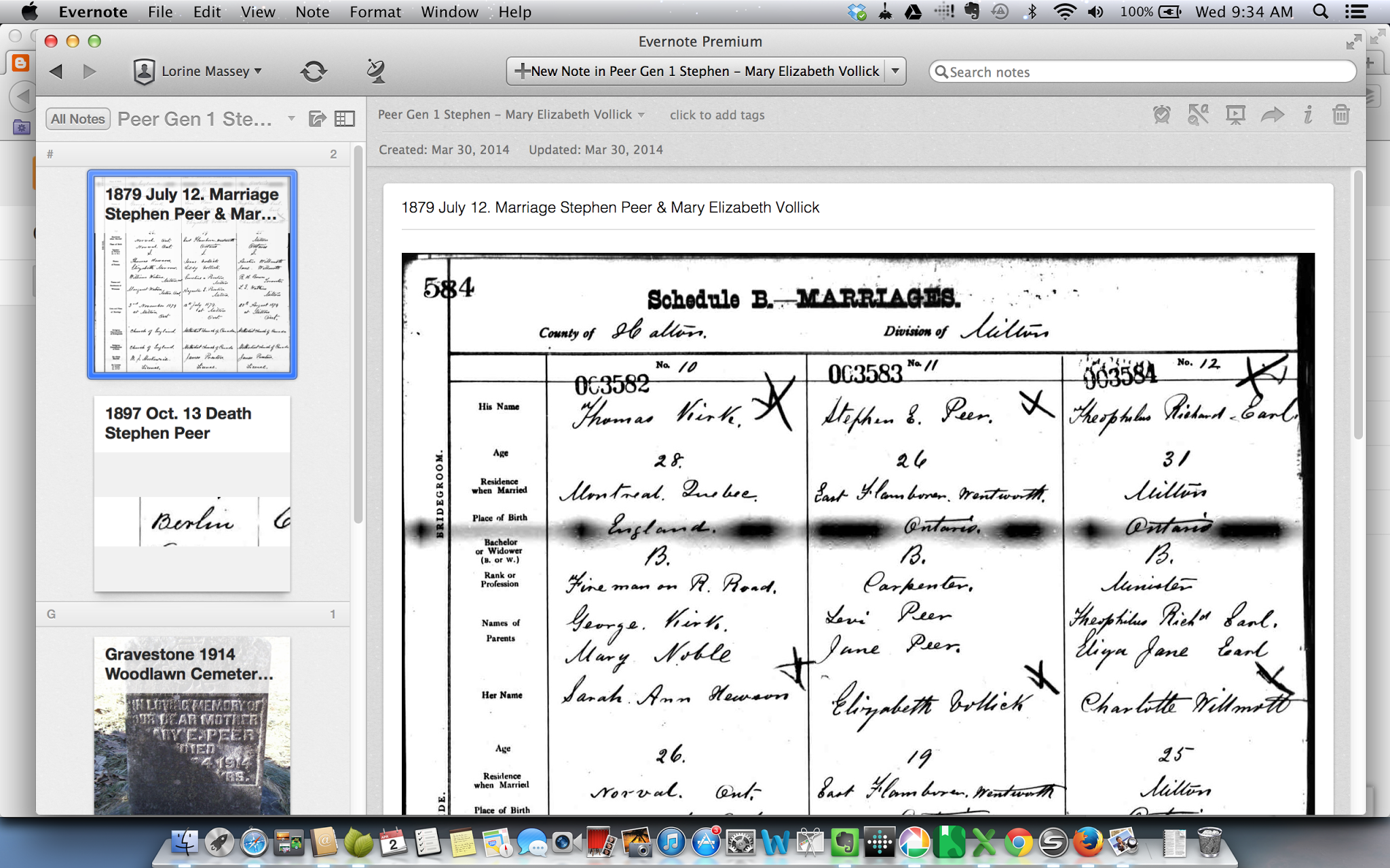 Olive Tree Genealogy Blog: Using Evernote to Make Virtual Binders for Genealogy Organization