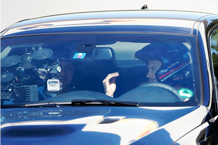 Sebastian Vettel continúa su labor como Perfomance Director de Infiniti
