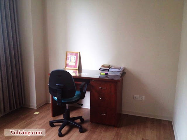 Working place in bedrooms