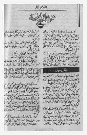 an - Tumhain Dil Ne Pukara Hai By Nayab Jelani