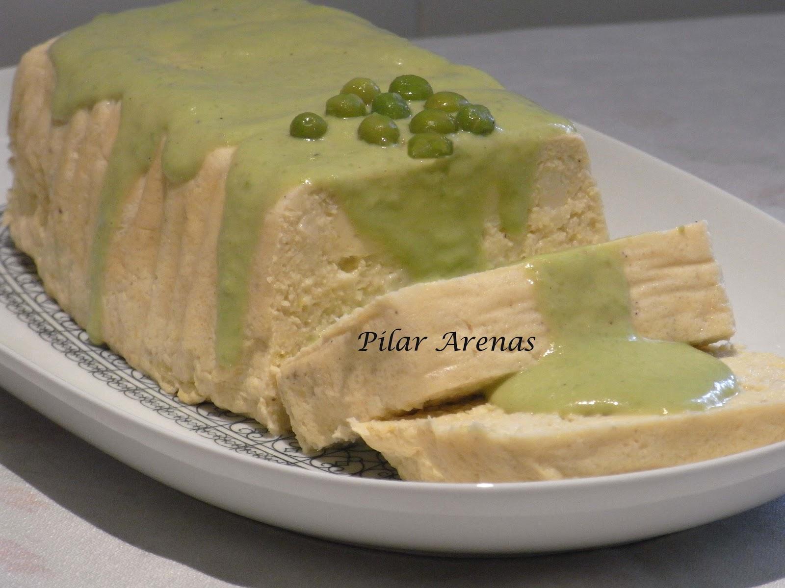 Pastel de puerros con salsa de guisantes thermomix for Cocina thermomix facil