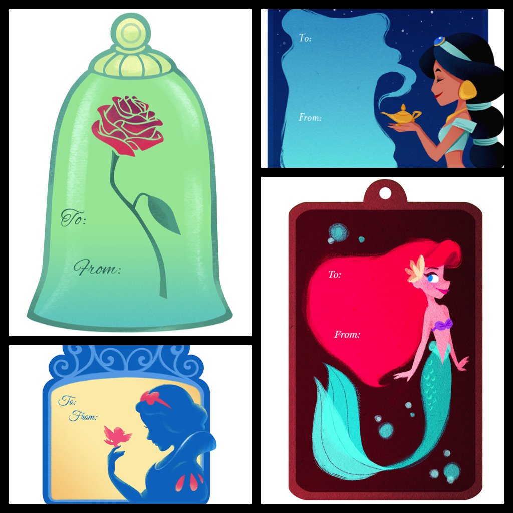 My Disney Life: Fun Find: Disney Christmas Gift Tags
