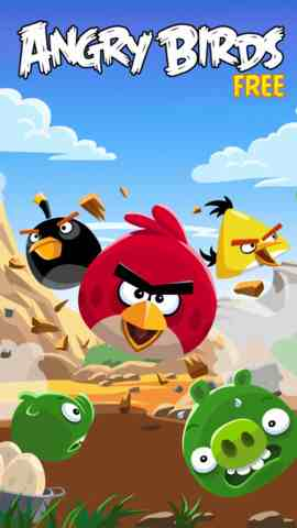 Angry Birds Free, iPhone Games Arcade Free Download, iPhone Applications