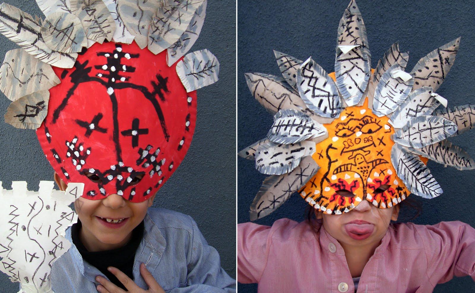 Как сделать маску для детей своими руками