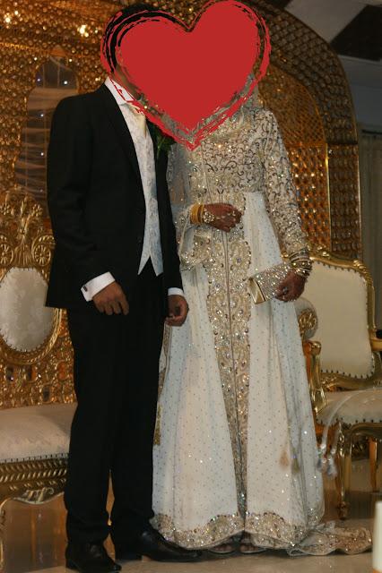 Desi Wedding, Hijabi Bride, Indian Wedding, Hijibai White Gown