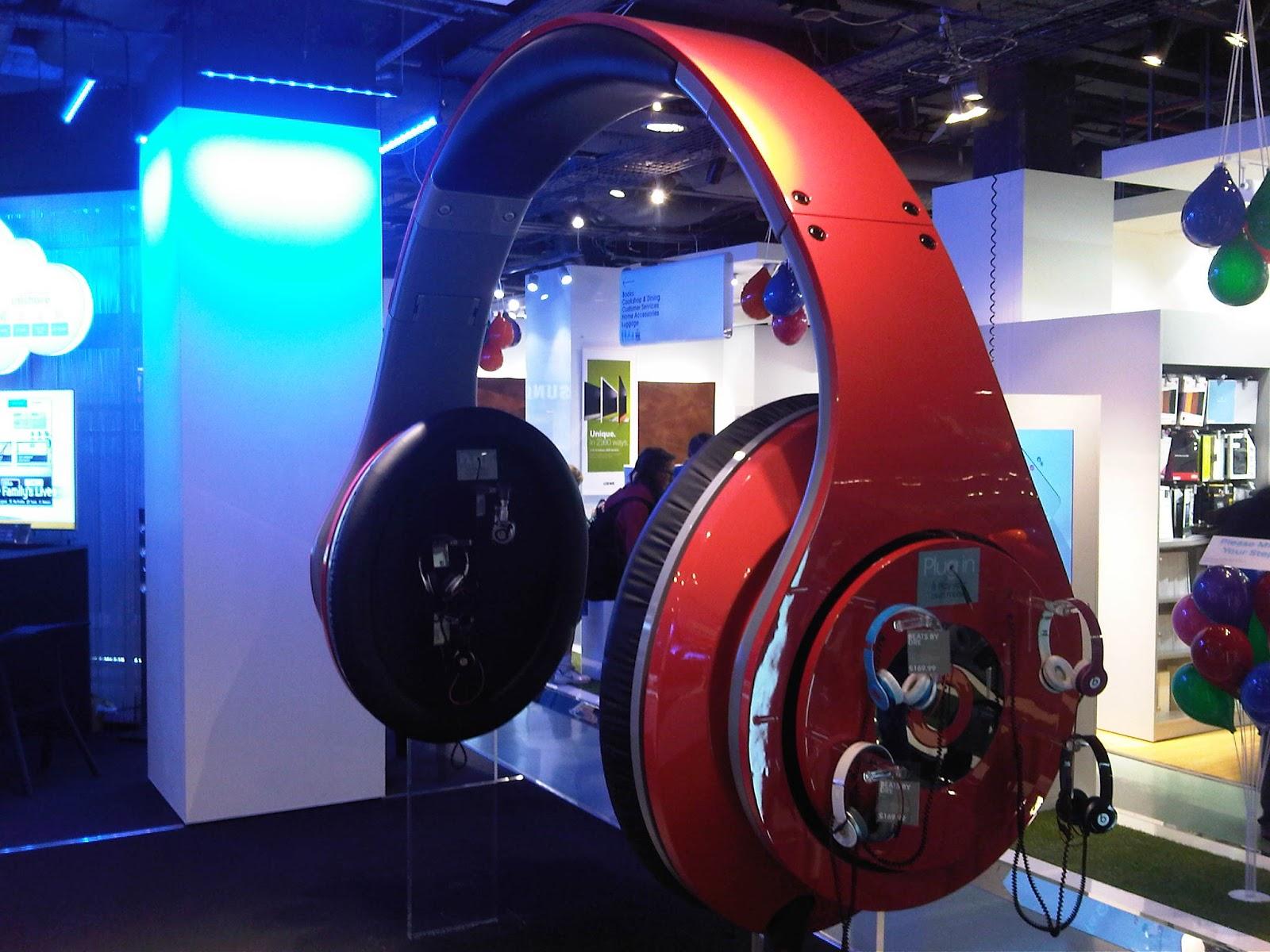 Worlds largest headphones