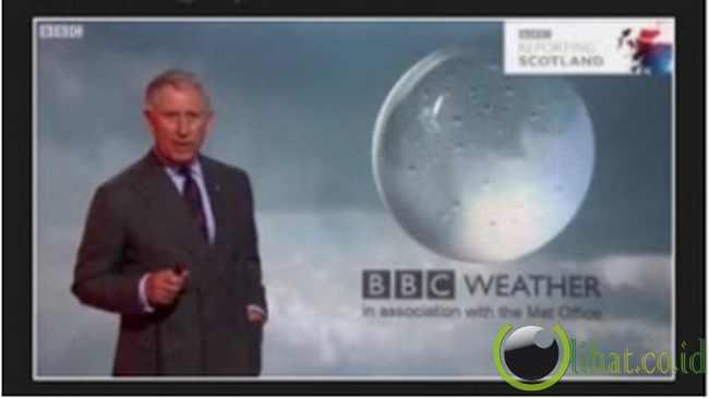 Siapa suruh percaya ramalan si peramal cuaca