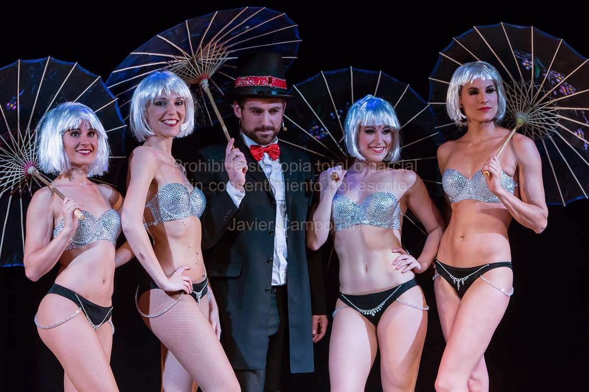 Fotografias de javier camporbin showtime la folie Teatro principe gran via