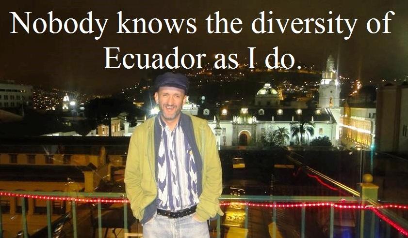 ECUADOR GAY TOUR GUIDE