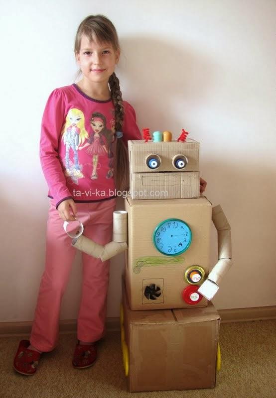 робот в подарок папе