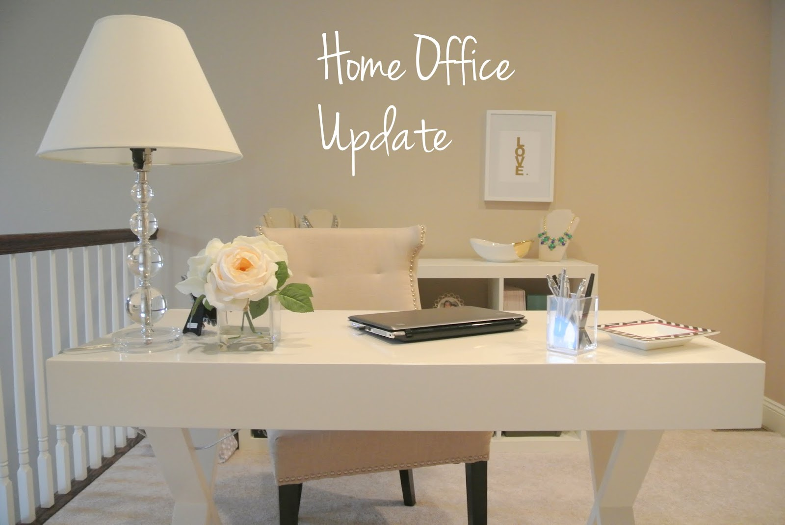 home office update again chic ikea home office