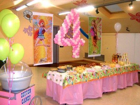 Dise o y decoraci n de la casa ideas de decoracion para - Ideas para fiestas infantiles en casa ...