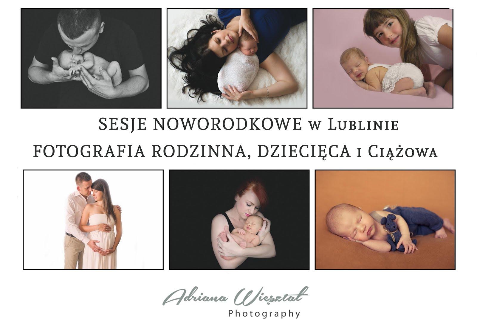 Sesje noworodkowe Lublin Fotograf dziecięcy