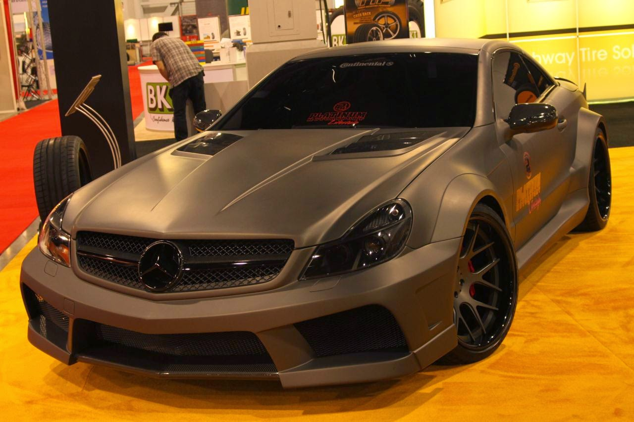 Mercedes benz sl65 amg black series by platinum for Mercedes benz e series amg
