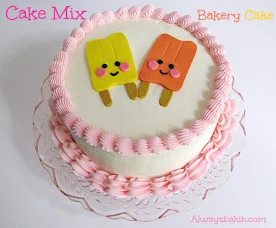 Cake Mix Bakery Cake