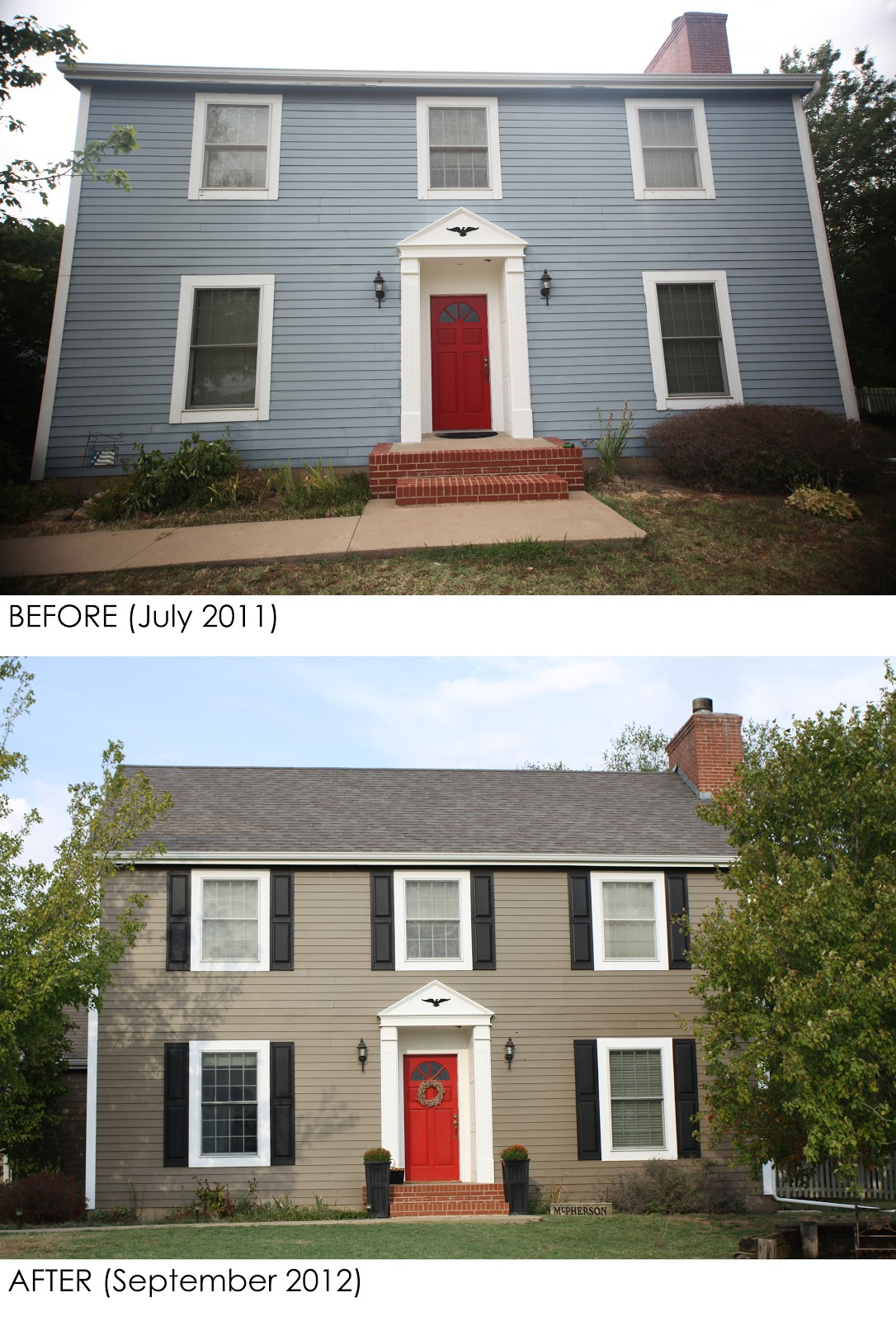 Elephant Juice Before After Exterior Makeover