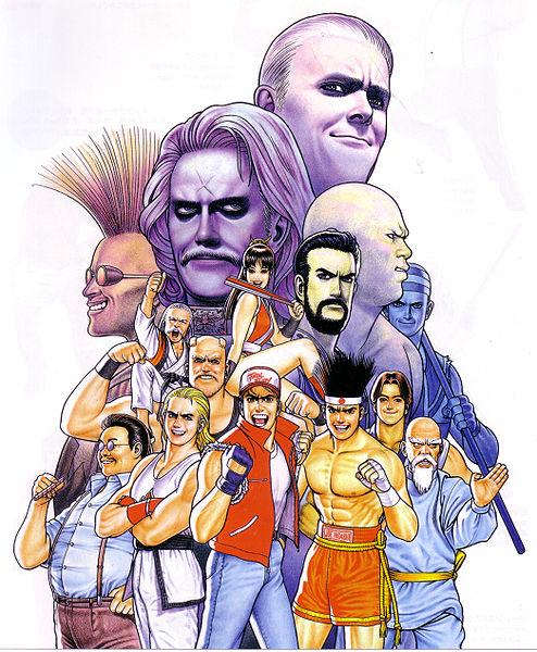Personajes de Fatal Fury 2