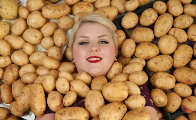 Potatoes help with weightloss