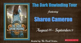 The Dark Unwinding blog tour banner