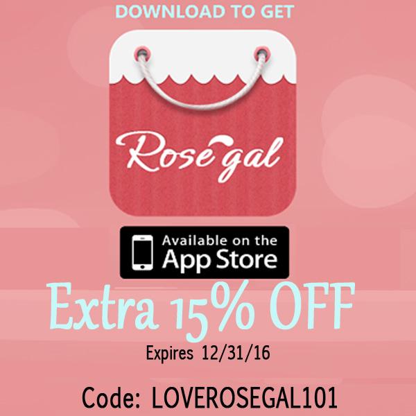 Rosegal app