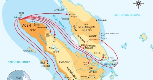 Kesultanan / Kerajaan Aceh : Sejarah, Peninggalan, Pendiri