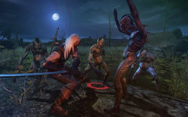 The Witcher 1 Enhanced Edition PC Games Gameplay
