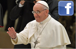 Papa Francisco no Facebook curtam