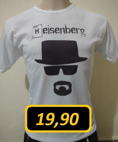 PROMOÇÃO! Camiseta Heisenberg!