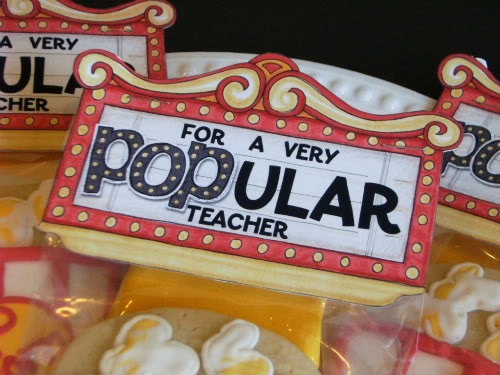 picture regarding Popcorn Teacher Appreciation Printable titled Incredible Sauce: Trainer Appreciation 7 days: Working day 5