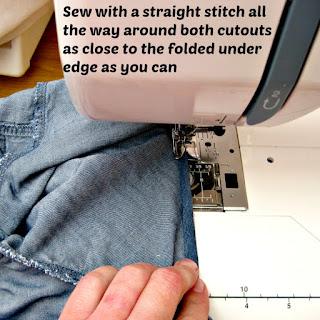 Sew hemline