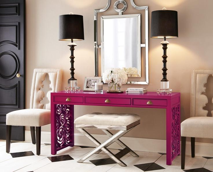 lamb blonde chic entryways. Black Bedroom Furniture Sets. Home Design Ideas