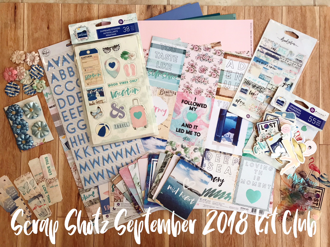 Scrap Shotz Kit Club!