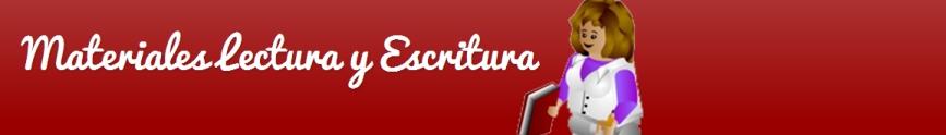 Materiales Lectura y Escritura