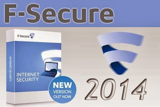 F-Secure Antivirus 2014 License Key Full Version Free