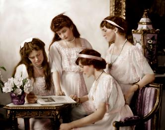 The Romanov Sisters 1914