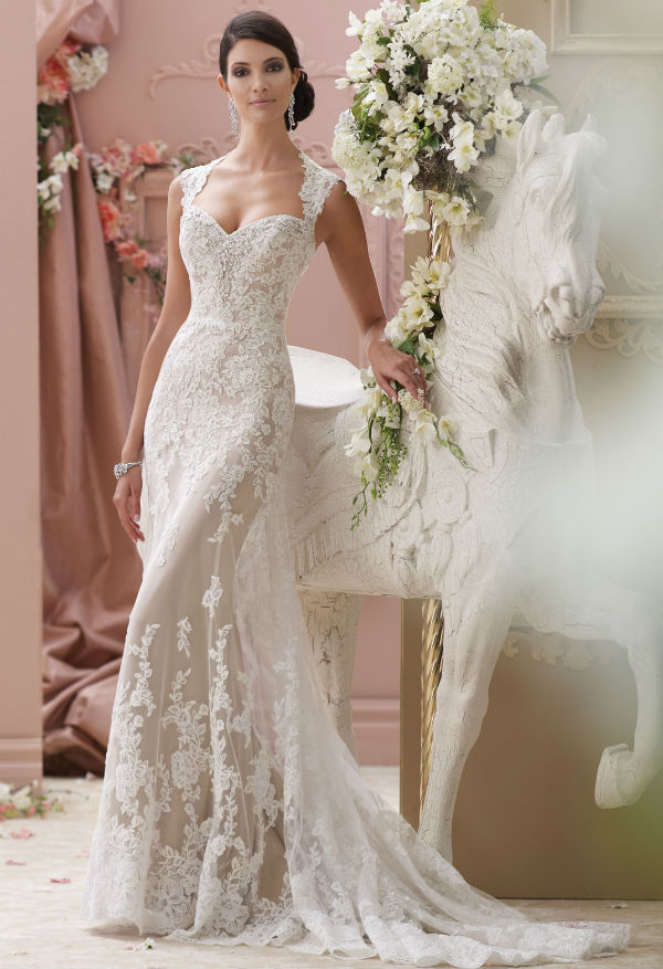 Vestidos de novia en randa