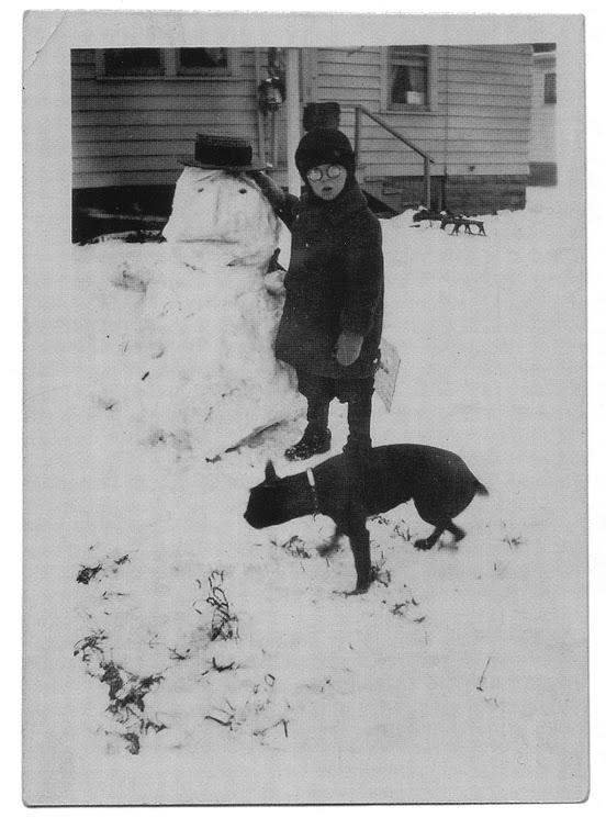 Anxious Snowman