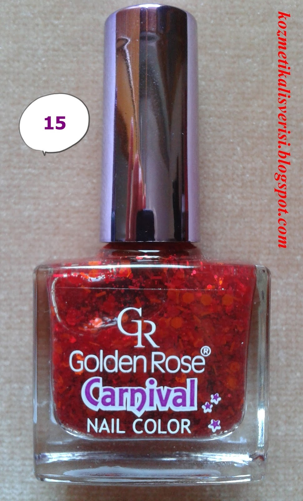 Golden Rose Carnival Nail Color 15